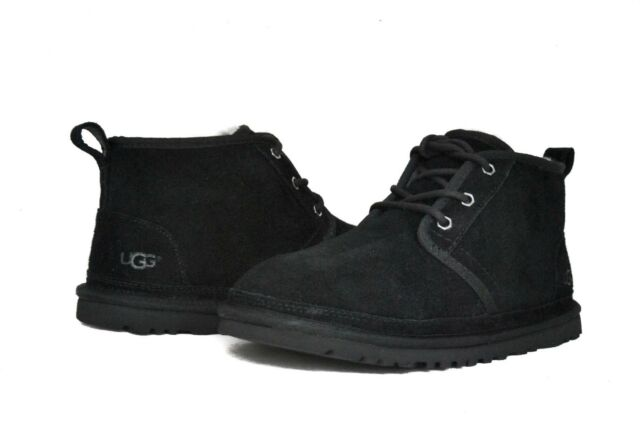 UGG Australia Men's Neumel 3236 Shoes Black Suede NEW Sz ...