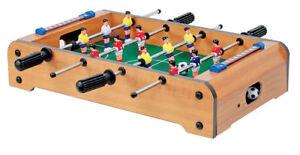 Kickertisch Tischfußball Fussballspiel Tischkicker Mini Kicker Fussballtisch