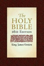 Holy Bible: King James Version, Bonded Leather, 1611 Edition (2006, Hardcover)