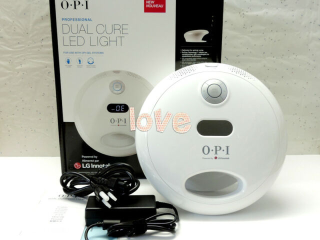 Opi Dual Nail Gl902 Dryer Cure Professional 2017 Led Light Gelcolor 0Owm8vNny