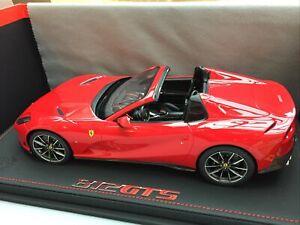 BBR-18184B-FERRARI-812-GTS-diecast-model-car-Rosso-Corsa-Limited-Edition-1-18th