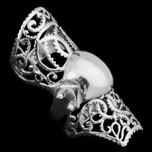 Glieder-Ruestungs-Ring-925er-Silber-Gothic-Schmuck-NEU