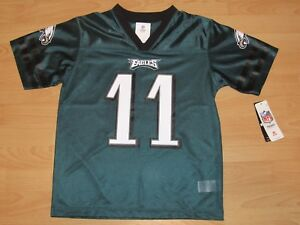 fc6acb6b Details about Philadelphia Eagles Carson Wentz #11 Football Jersey size  Youth Large