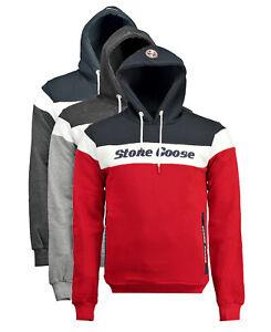 Felpa-Stone-Goose-Farrau-maglia-Uomo-Men-due-tasche-zip-sweatshirt-cappuccio-ho