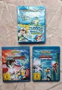 3-x-Pokemon-Movie-Blu-Rays-4-Ever-Heroes-Diancie-Cocoon-Genesect-Legend-Awakened