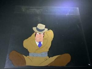 Lupin the Third 3rd III Zenigata Original Animation Cel Painting Anime Japan