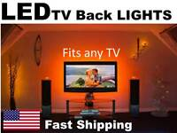 Led Back Light Kit For Any Tv Universal Fit 32 40 42 50 55 60 65 Inch In.