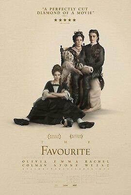 THE FAVOURITE MOVIE POSTER FILM A4 A3 ART PRINT CINEMA #2