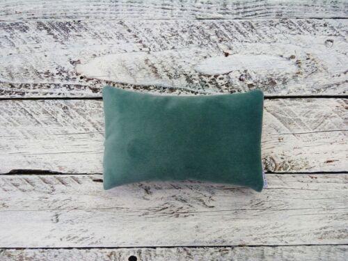 Handmade Matching Velvet Mouse and Keyboard Wrist Rest Tropic Green Mint