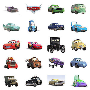 Disney Cars Characters Iron On T Shirt Transfer Choose Image And
