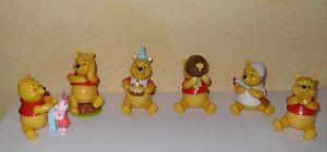 6 Personaggi Winnie the Pooh Action Figures 8 cm Nuovi bomboniera - Italia - 6 Personaggi Winnie the Pooh Action Figures 8 cm Nuovi bomboniera - Italia