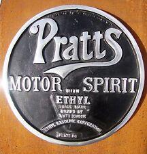 Pratts Motor spirito segno CAST segno Alluminio Olio Annuncio pubblicitario pubblicità benzina vac17