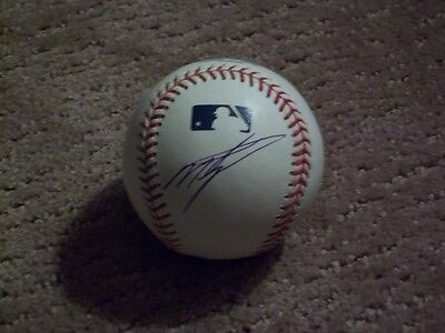 Baseball-mlb Dynamic Miguel Tejada Auto Balls Royals Official Mlb Baseball