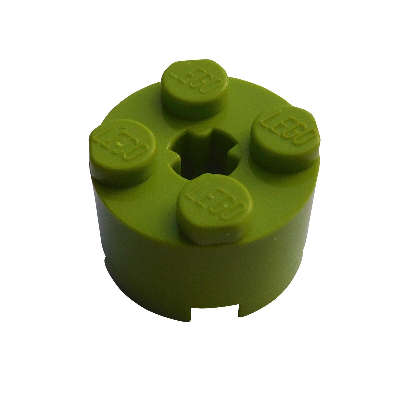 Lego 4x Steine Rund 2x2 Transparent blue 3941