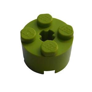 Lego-50x-Stein-rund-2x2-lime-3941-Neu-limette-Rundstein-Steine-bricks