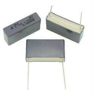 5x MKT Kondensator 1µF 100V