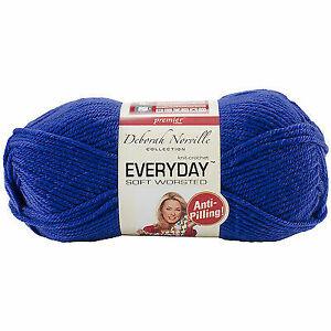 Premier Yarns Deborah Norville Collection Everyday Solid Yarn-Azure 3Pk