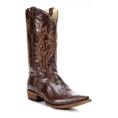 Circle G by Corral Mens Dark Brown Leather Boot L5092 NIB