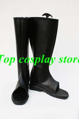 Naruto Uchiha Itachi Anime Akatsuki Ninja Ninjia Cosplay Shoes boots long black