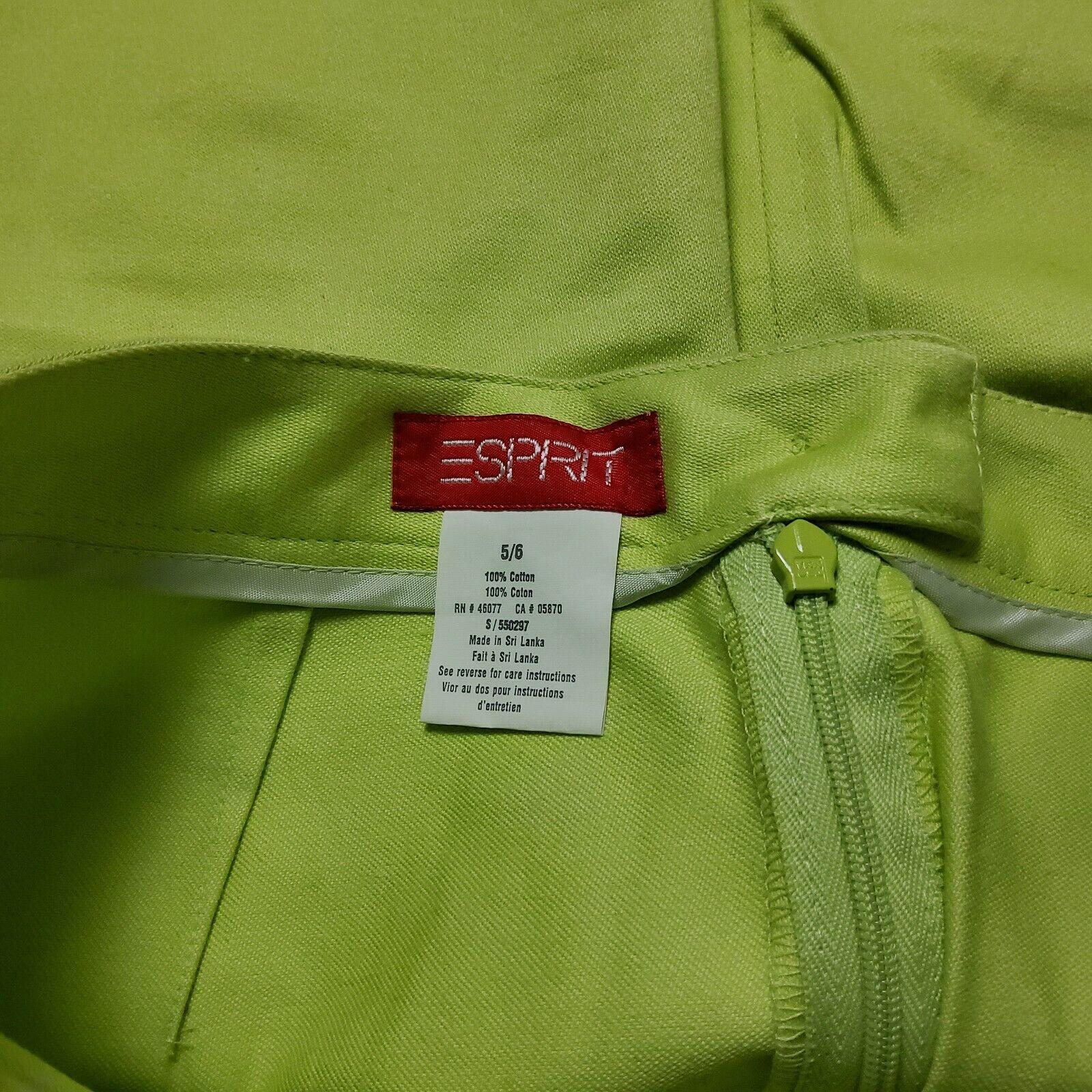 Esprit Neon Green Skirt - image 4