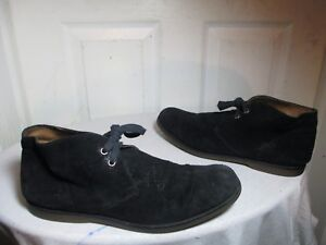 ed536593895 Details about JOHN VARVATOS MEN'S DISTRESSED BLACK SUEDE CHUKKA ANKLE BOOTS  MADE IN ITALY SZ 8