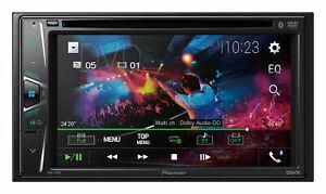 PIONEER-AVH-110BT-Stereo-Double-DIN-6-2-034-Touchscreen-Audio-Bluetooth-DVD-CD-USB