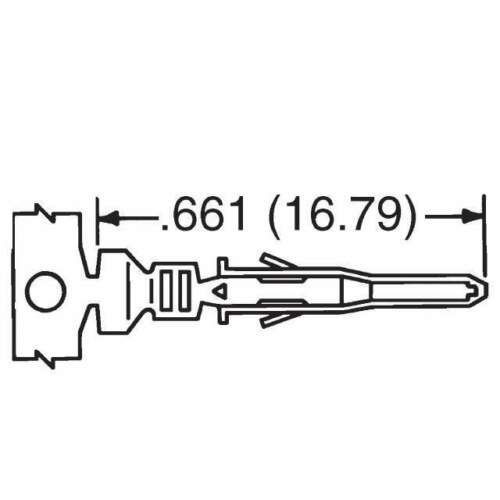 Molex Male /& Female Pins PCI-E 50 Pair EPS Power Connectors for PC ATX