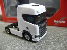 1/87 Herpa Scania CS20 HD Trattore ZM 2-Achs bianco 306768
