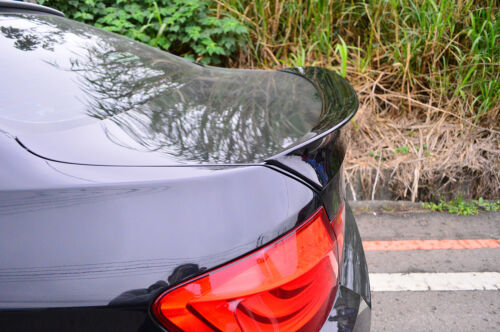 Fit For BMW F10 5-Series A Style Rear Trunk Spoiler Wing Painted Color #416