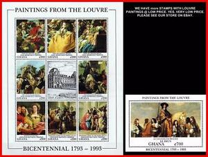 LOUVRE-MUSEUM-GHANA-1993-MNH-NO-SERIOUSLY-DID-YOU-SEE-034-034