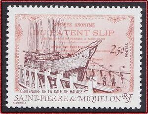1987-SAINT-PIERRE-ET-MIQUELON-N-479-Bateau-Voilier-TB-SPM-Sailing-Ship-MNH