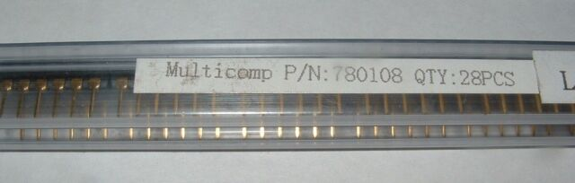 10 x 6 way low profile DIP switch Multicomp 780108 6 gang DIL switch 12 pin