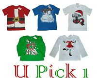 Top Tee T Shirt Christmas Holiday Kids Boys Girls Childrens Place Kids Little