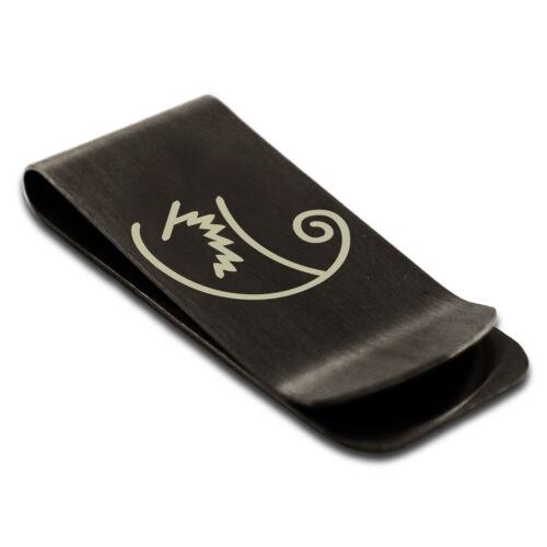 Stainless Steel Reiki Motor Zanon Wellness Slim Wallet Cash Card Money Clip