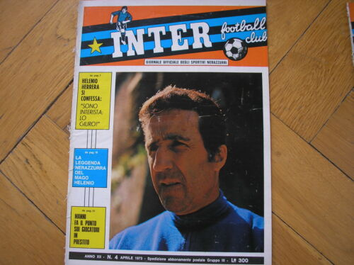 INTER FOOTBALL CLUB 4 1973 HERRERA SKOGLUND CAROLINE FABBIAN