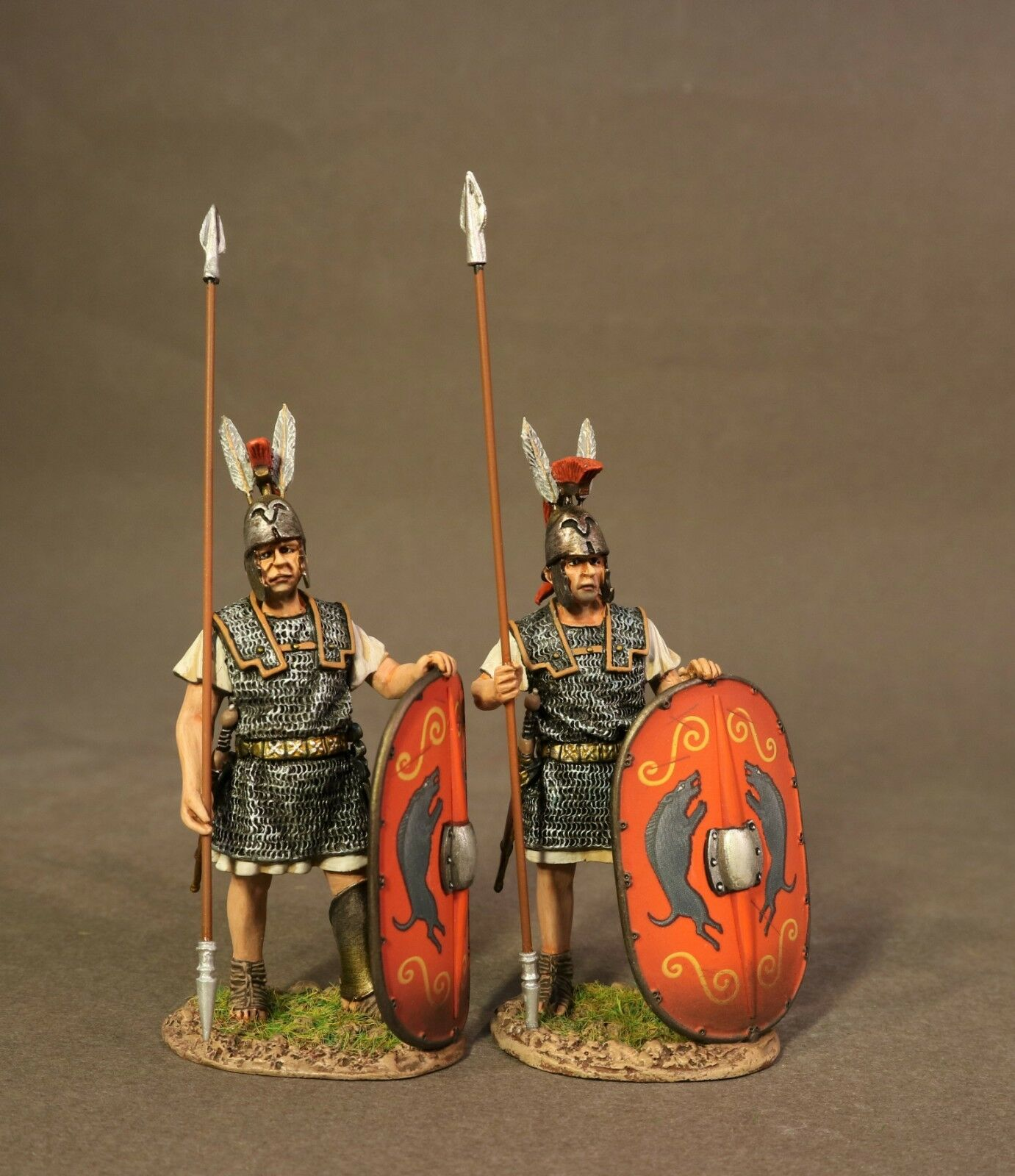 John Jenkins Roman Empire Age Of Arthur TMRR-01R 2 Roman Triarii, Stehend MIB