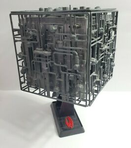 1994-STAR-TREK-BORG-CUBE-SHIP-PLAYMATES-TESTED-WORKING-6158-ACTION-FIGURE-TOY