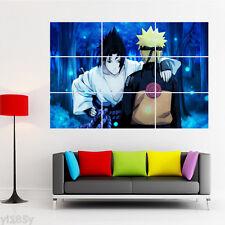 Naruto Sasuke Sakura Poster Giant Print Large Art Deco A3