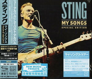 STING-MY-SONGS-SPECIAL-EDITION-JAPAN-2-SHM-CD-BONUS-TRACK-H40