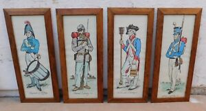 US-Military-Historical-Etching-ART-Prints-Infantry-Artillery-Federal-18-19-c