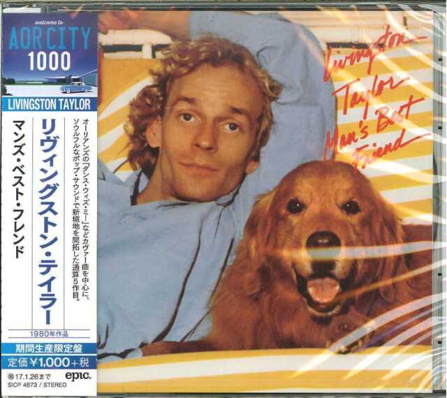 LIVINGSTON TAYLOR-MAN'S BEST FRIEND -JAPAN CD B63