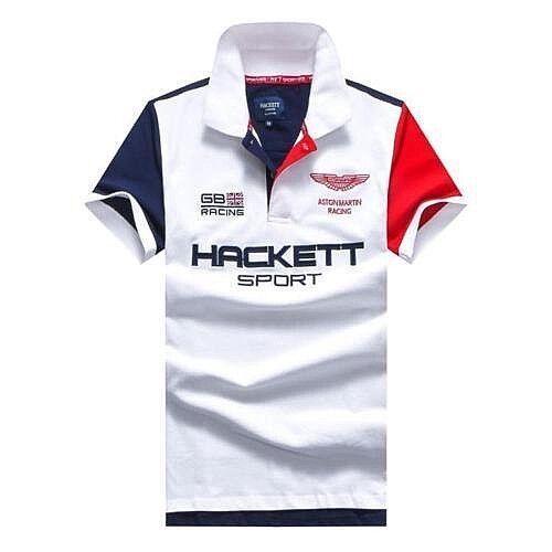 Hackett Aston Martin GB Racing Sport Men/'s Polo Shirt