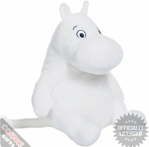 Moomins Plush Soft Toy. Cuddly Gift Toy For Kids Retro TV
