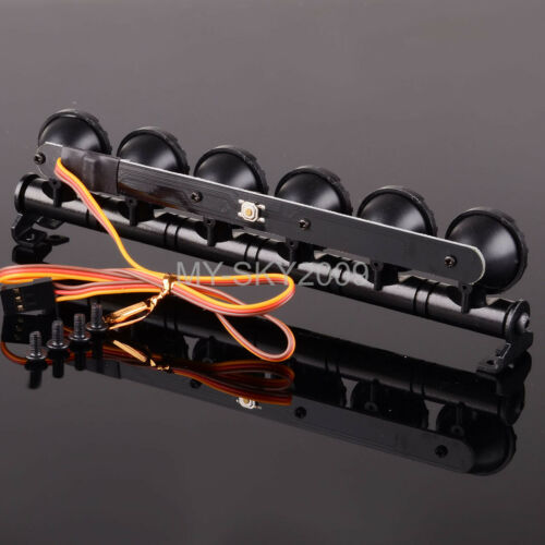 JEEP Multi Function Ultra LED Light Bar For RC Off-Road Truck Car D90,CC01,SCX10