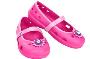 Crocs Kid's Keeley Petal Charm Croc Size UK Infant 7-13