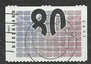 Paises-Bajos-Pastilla-de-50-sellos-Yvert-7301-Carta-con-cifras-R7301