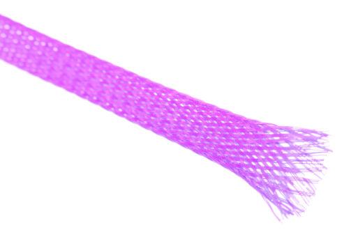 por ejemplo Tejidos manguera entramado manguera cable protección ø3mm en lila servo regulador nuevo