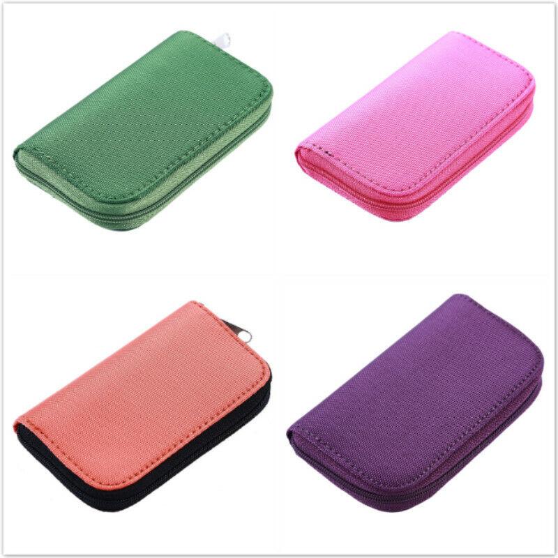 Memory Card Case Holder Storage Box 22 Slots For SD SDHC TF Micro SD SIM IT