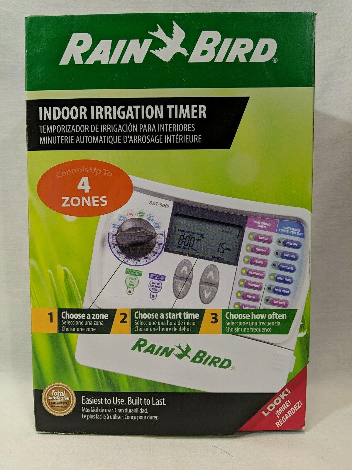 Rain Bird Irrigation timer 4-station indoor simple-to-set Sprinkler Controller