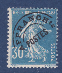 FRANCE-PREOBLITERE-N-60-signe-Calves-TB-cote-420